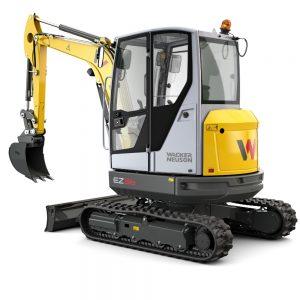 Wacker Neuson EZ36 Zero Tail Swing Tracked Excavator