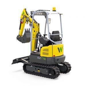 Wacker neusson EZ127 tracked excavator