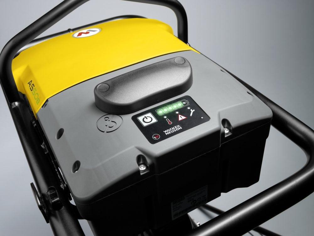 Wacker Neuson Battery-Powered Rammer AS50e