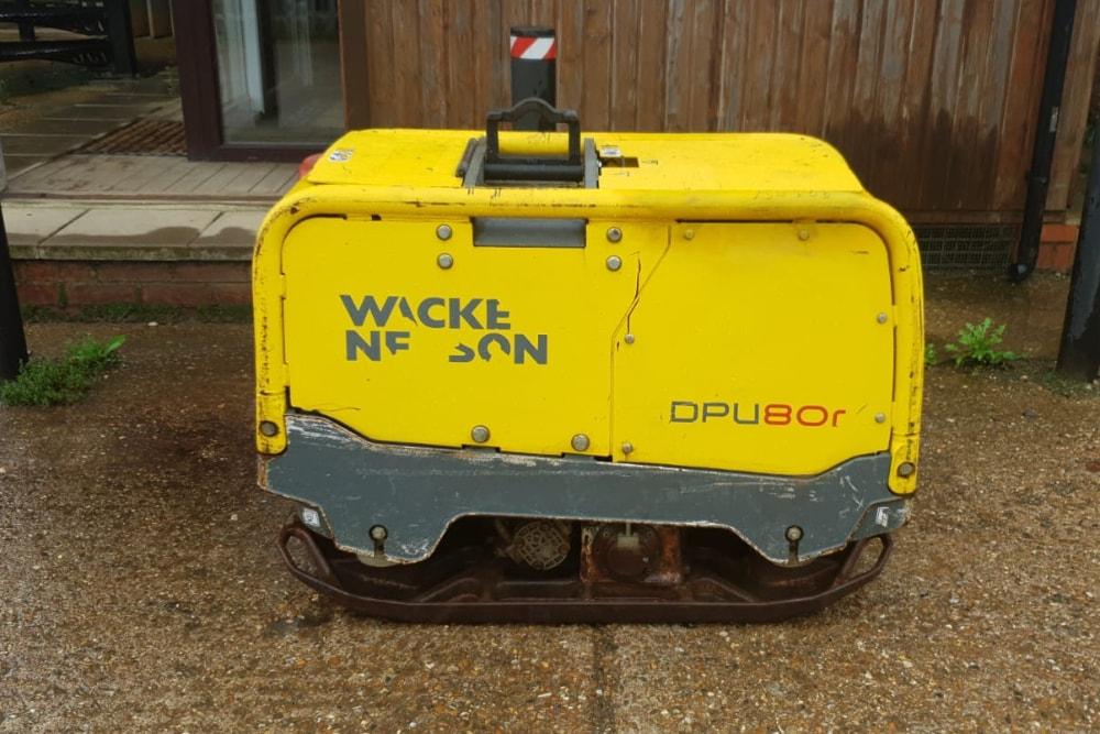Wacker Neuson DPU80r Remote Control Plate