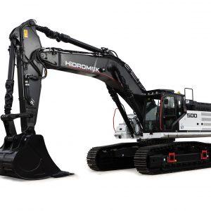 HIDROMEK HMK500LCHD H4 Tracked Excavator