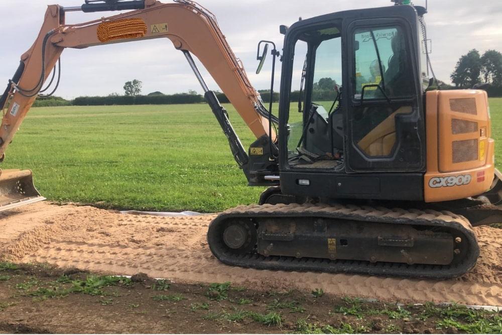 Case CX90 9-ton Midi Excavator