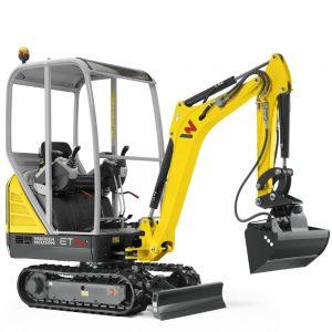 Wacker Neuson Tracked Conventional Tail excavator ET16