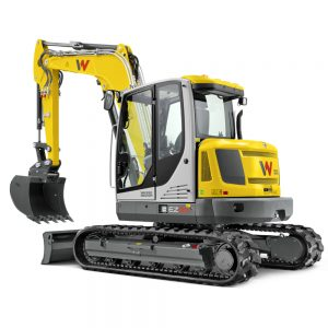 Wacker Neuson EZ80 Zero Tail Swing Tracked Excavator
