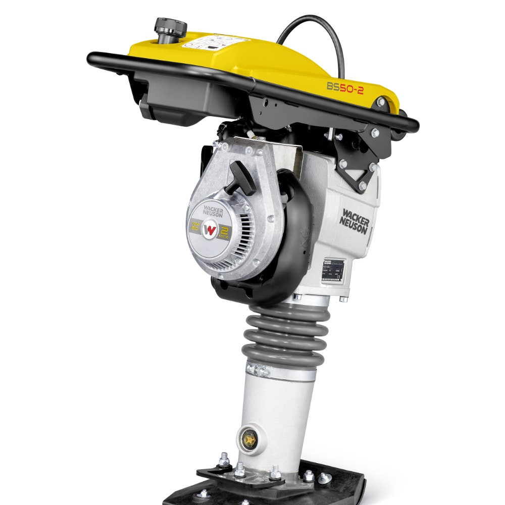 Wacker Neuson 2-stroke Rammer BS50-2, 165mm ramming shoe